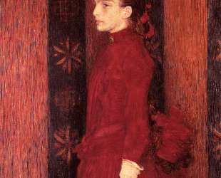 Portrait of a Young Girl in Red — Тео ван Рейссельберге