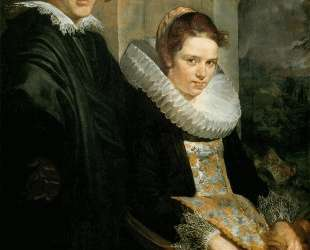 Portrait of a Young Married Couple — Якоб Йорданс