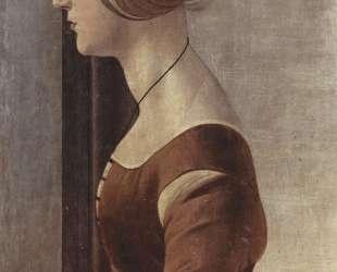 Портрет девушки — Сандро Ботичелли