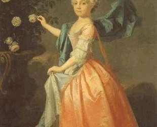 Portrait of Agnes Murray Kynnynmond — Аллан Рэмзи