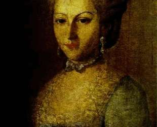 Portrait of Agrafena Ribeaupierre — Карл Людвиг Христинек