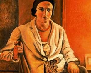 Portrait of Alice Derain — Андре Дерен