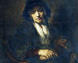Портрет старушки — Илья Репин