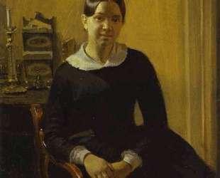 Portrait of Anna Zhdanovich — Павел Федотов