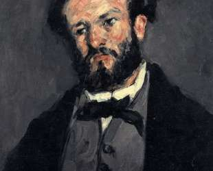 Portrait of Anthony Valabregue — Поль Сезанн