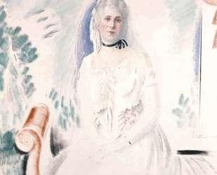 Portrait of Aristovouli Lopresti — Константинос Партенис