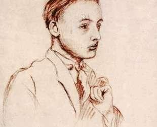 Portrait of Armand Salacrou — Жан Дюбюффе