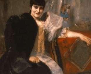 Portrait of Artemis Gyzi — Николаос Гизис