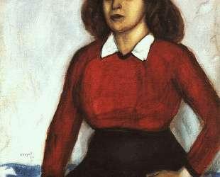 Портрет сестры художника (Анюта) — Марк Шагал