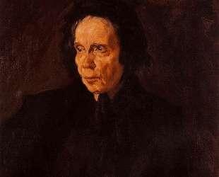 Portrait of aunt Pepa — Пабло Пикассо