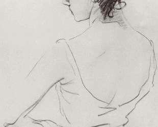 Портрет балерины Т. П.Карсавиной — Валентин Серов