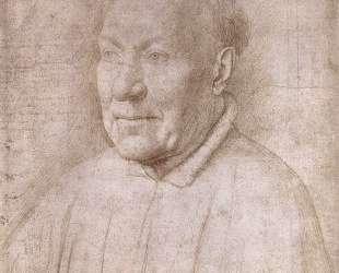 Портрет кардинала Альбергати — Ян ван Эйк