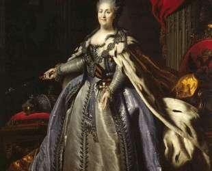 Portrait of Catherine II of Russia — Фёдор Рокотов