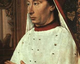 Portrait of Charles II of Bourbon — Жан Эй (Муленский мастер)