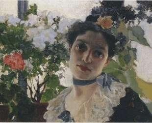 Portrait of Clothilde — Хоакин Соролья