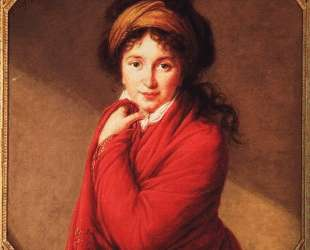 Portrait of Countess Golovine — Элизабет Луиза Виже-Лебрен