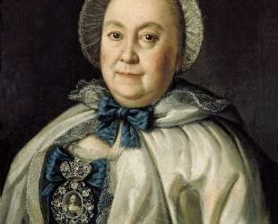 Portrait of Countess M. A.Rumyantzeva — Алексей Антропов