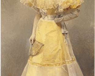 Portrait of Countess of Santiago — Хоакин Соролья
