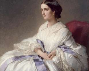 Portrait of Countess Olga Shuvalova — Франц Ксавер Винтерхальтер