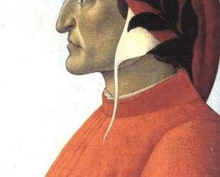 Портрет Данте — Сандро Ботичелли