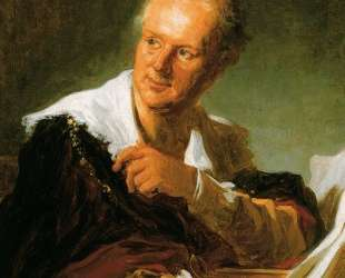 Portrait of Denis Diderot — Жан-Оноре Фрагонар