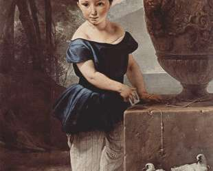 Portrait of Don Giulio Vigoni as a child — Франческо Хайес