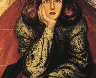 Portrait of Dramatist Margarita Urueta — Давид Альфаро Сикейрос