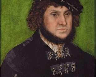 Портрет герцога Иоганна Твердого Саксонского — Лукас Кранах Старший
