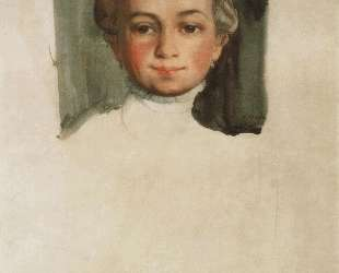 Голова девушки (Е. Е.Владимирская) — Константин Сомов