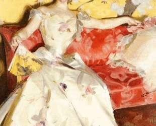 Portrait of Elizabeth Sherman Cameron — Андерс Цорн