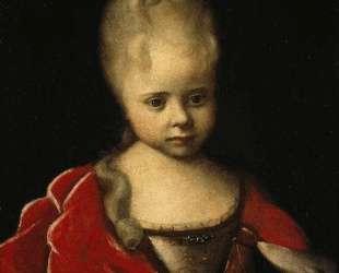 Portrait of Elizaveta Petrovna as a child — Иван Никитин
