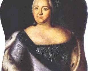 Portrait of Empress Elizaveta Petrovna — Алексей Антропов