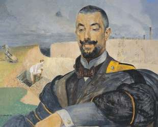 Portrait of Erazm Baracz — Яцек Мальчевский