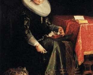 Portrait of Eva Wtewael — Йоахим Эйтевал