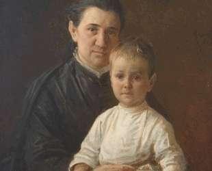 Портрет Евдокии Николаевны Костычевой, рожд. Фокиной — Николай Ге