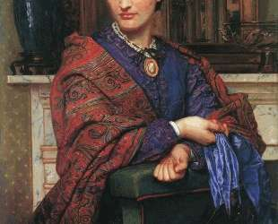Portrait of Fanny Holman Hunt — Уильям Холман Хант