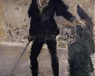 Portrait of Faure as Hamlet — Эдуард Мане