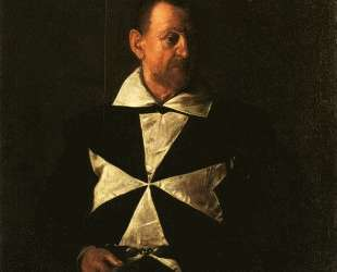 Портрет Фра Антонио Мартелли — Караваджо