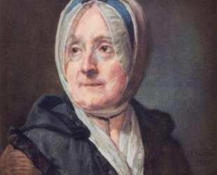 Portrait of Francoise Marguerite Pouget — Жан Батист Симеон Шарден