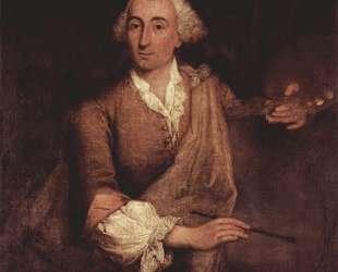 Portrait of Francesco Guardi — Пьетро Лонги