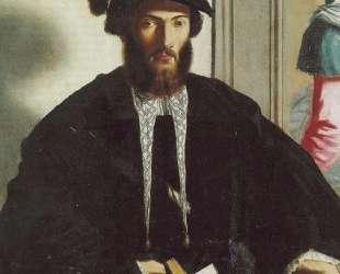 Portrait of gentleman G. B. Castaldi — Пармиджанино