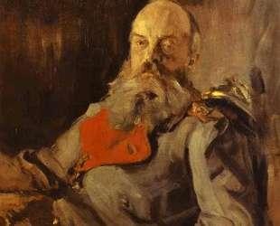 Портрет великого князя Михаила Николаевича в тужурке — Валентин Серов