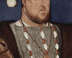 Portrait of Henry VIII, King of England — Ганс Гольбейн Младший