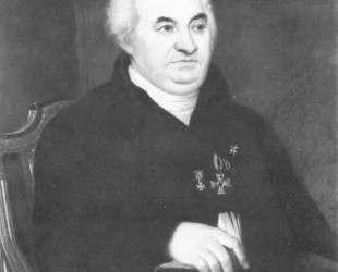 Портрет И. В.Кусова — Орест Кипренский