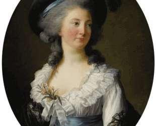 Portrait of Izabela Lubomirska — Элизабет Луиза Виже-Лебрен