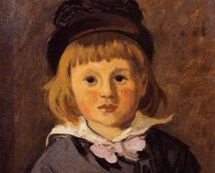 Портрет Жана Моне в шапочке с помпоном — Клод Моне