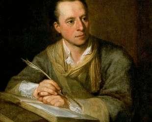 Portrait of Johann Joachim Winckelmann — Ангелика Кауфман