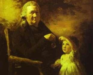 Portrait of John Tait and His Grandson — Генри Реборн