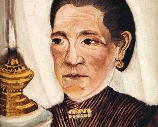Portrait of Josephine the artist's second wife — Анри Руссо