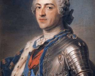 Portrait of King Louis XV — Морис Кантен де Латур